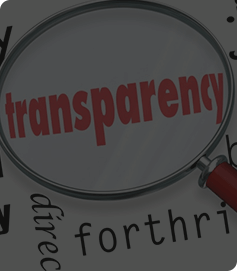 100% Transparency